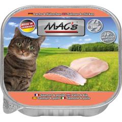 Bild von Artikel Cat Lachs & Hühnchen 85g Paket