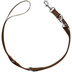 Bild von Artikel Verstellbare Führleine London Braun Länge 2m / Breite 1,5 cm