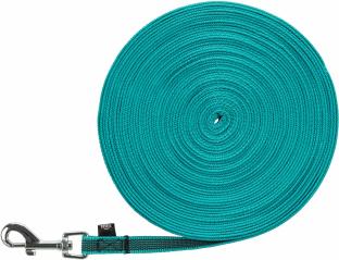 Bild von Artikel Schleppleine Türkis, gummiert Länge 5 Meter