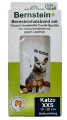 Bild von Artikel Bernstein+ Zecken- und Flohhalsband Katze XXS