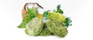 Bild von Artikel Tackis Taler  Grüner Gemüsehit mit Kokos 800g Beutel