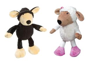 Bild von Artikel Plüschspielzeug Schafe Farbe schwarz;  L: 25cm