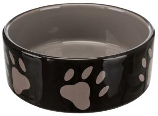 Bild von Artikel Napf Pfotenmotiv, keramik 16cm braun/taupe