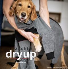Bild von Artikel Zip Fit Dryup  Body Standard Anthrazit  XS