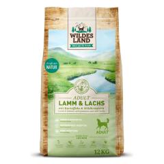 Bild von Artikel Wildes Land Lamm & Lachs  mit Kartoffeln und Wildkräutern 1kg Beutel