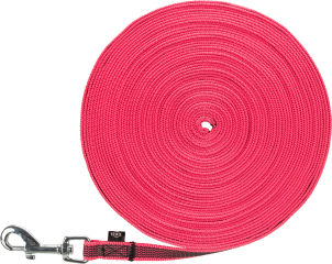 Bild von Artikel Schleppleine Pink, gummiert Länge 5 Meter