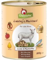 Bild von Artikel Liebling's Mahlzeit Lamm & Kartoffel 800g Dose