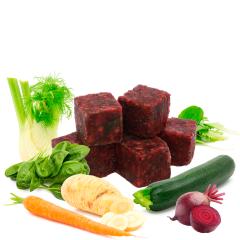 Bild von Artikel Veggi Cubes V, gefroren 10 Würfel circa 500g Paket