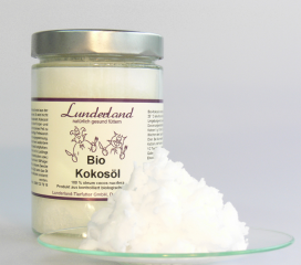 Bild von Artikel Lunderland - Bio Kokosöl 200ml Glas