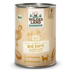 Bild von Artikel Wildes Land Bio Ente mit Süßkartoffeln  400g Dose