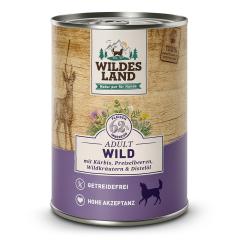 Bild von Artikel Wildes Land Wild  mit Kürbis & Preiselbeeren 400g Dose