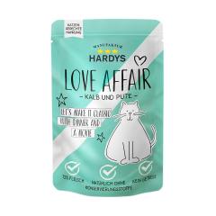 Bild von Artikel Hardys Love Affairs Pute & Kalb 100g Pouch