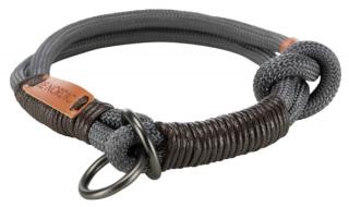 Bild von Artikel BE NORDIC Zug-Stopp-Halsband  Dunkelgrau Gr. S / 35cm