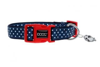 Bild von Artikel Doog Halsband Stella Navy/polka  XS