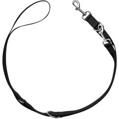 Bild von Artikel Verstellbare Führleine London Schwarz Länge 2m / Breite 1,5 cm