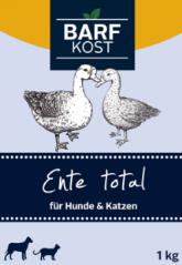 Bild von Artikel Barf-Kost, Ente Total 1000g Paket
