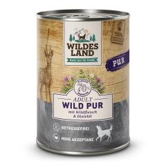 Bild von Artikel Wildes Land Wild PUR mit Distelöl  400g Dose