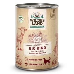 Bild von Artikel Wildes Land Bio Rind  mit Kartoffeln & Karotten 400g Dose