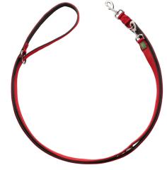 Bild von Artikel Verst. Führleine Neopren schwarz / Nylon rot 15mm/200cm