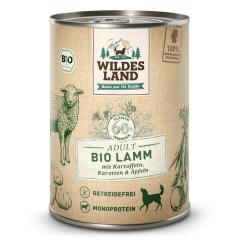 Bild von Artikel Wildes Land Bio Lamm mit Kartoffeln & Karotten  400g Dose