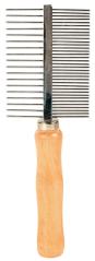 Bild von Artikel Kamm, beidseitig mittlere/grobe Zinken, 17cm