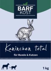 Bild von Artikel Barf-Kost, Kaninchen Total 1000g Paket
