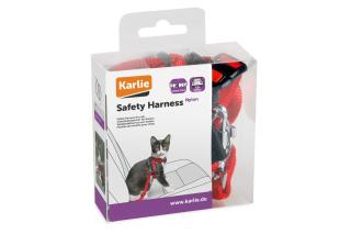 Bild von Artikel Autosicherheitsgeschirr für Katzen B: 15 mm rot